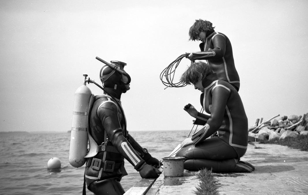 nurkowanie w latach 70-tych