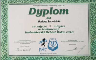 Gratulacje! Instruktorski Debiut Roku dla naszego instruktora