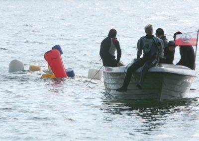 Giewartów – prace podwodne kursu KDP/CMAS P2