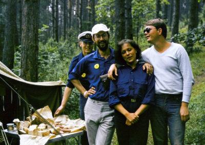 Obóz, Babięta Wielkie, 1984