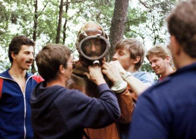 Obóz, j. Zdrużno, 1986