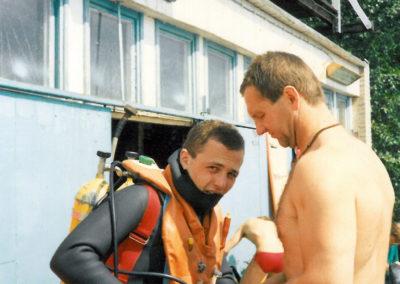 Obóz, j. Pluszno, 1990